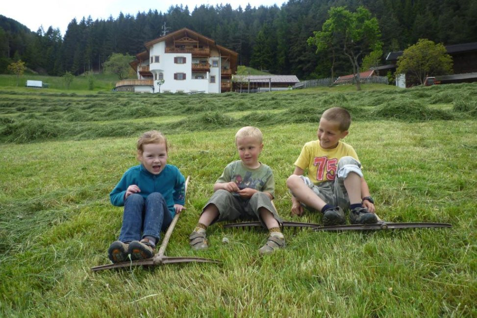 Leisure time on the farm in Villanders South Tyrol