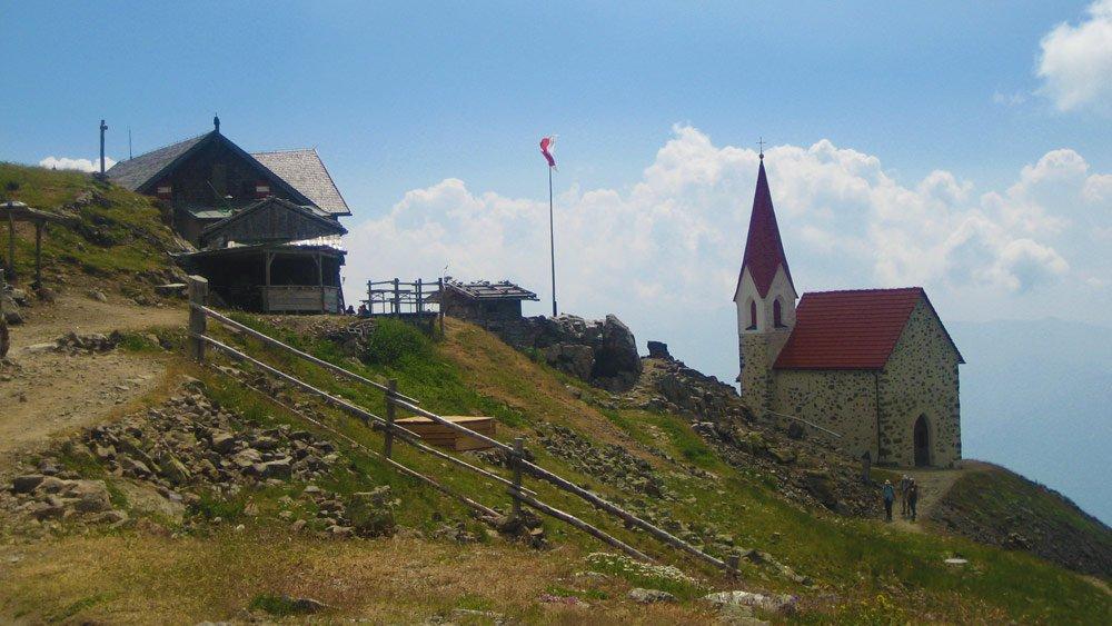 Gasser Hütte-Stöffl Hütte-Latzfonser Kreuz (2300 m)-Kassianspitze (2581 m)